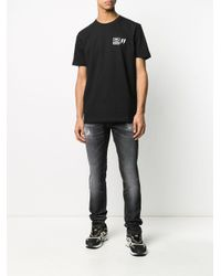 Jean skinny Ronnie 7 For All Mankind pour homme en coloris Black