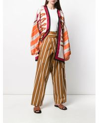 Erika Cavallini Semi Couture ストライプ パンツ Multicolor