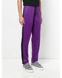 AMI Purple Trackpants for men