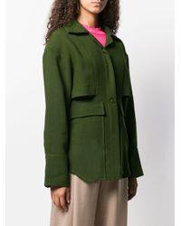 Giacca stile militare oversize di Jacquemus in Green