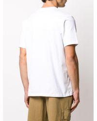 メンズ CASABLANCA グラフィック Tシャツ White