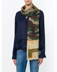 Pierre Louis Mascia - Multicolor Camouflage Scarf - Lyst
