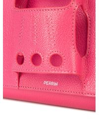 PERRIN Paris Le Cabriolet クラッチバッグ Pink