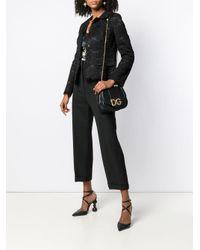 Borsa tote con decorazione di Dolce & Gabbana in Black
