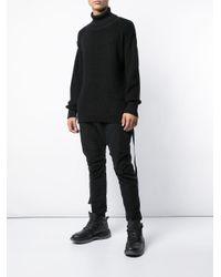 Turtleneck knit sweater The Viridi-anne pour homme en coloris Black
