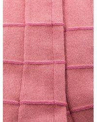 メンズ Issey Miyake プリーツ 靴下 Pink