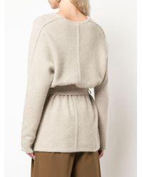 Co. ベルテッド セーター Natural