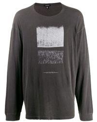 Camiseta Joy Division estampada R13 de hombre de color Gray