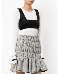 Georgia Alice - Black Dustland Cropped Sweater - Lyst