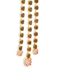 Marni - Multicolor Chandelier Strass Earrings - Lyst