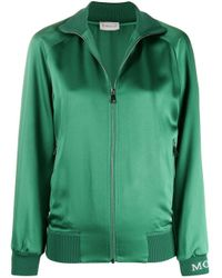 Moncler ジップ スウェットシャツ Green