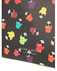 Pochette Stace Alice + Olivia en coloris Black