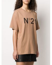 N°21 オーバーサイズ Tシャツ Multicolor