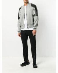 Versace Cropped Bomberjack in het Gray voor heren