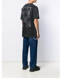 メンズ Off-White c/o Virgil Abloh Arrows Tシャツ Black