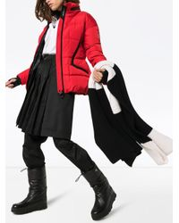 3 MONCLER GRENOBLE パデッドジャケット Red
