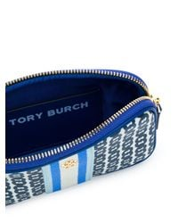Tory Burch Gemini Link クラッチバッグ Blue