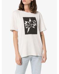 Saint Laurent スターロゴ Tシャツ Multicolor