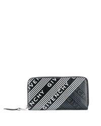 Cartera con logo estampado Givenchy de color Black