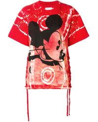 Faith Connexion Mickey Mouse プリントtシャツ Multicolor