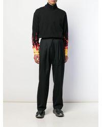 Pantalones tipo cargo de pinzas D.GNAK de hombre de color Black