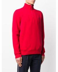 メンズ Polo Ralph Lauren ジップ スウェットシャツ Red
