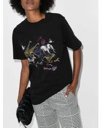 Re/done '80s オーバーサイズ Tシャツ Black