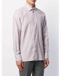 Рубашка В Полоску Ermenegildo Zegna для него, цвет: Multicolor