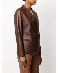 Veste à boutonnière croisée Fabiana Filippi en coloris Brown