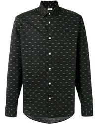 KENZO Black Eyes Shirt for men