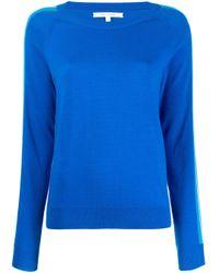Chinti & Parker ストライプ セーター Blue
