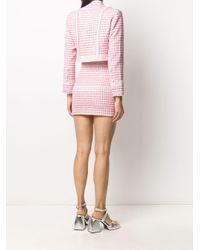 Loulou クロップド ジャケット Pink