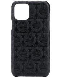 メンズ Ferragamo ガンチーニ Iphone 11 Pro ケース Black