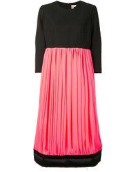 Comme des Garçons カラーブロックドレス Pink