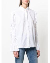 Camicia con lacci di FRAME in White
