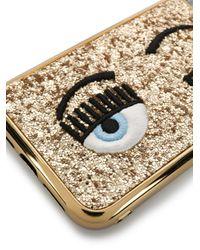 Чехол Flirting Eye Для Iphone 11 Chiara Ferragni, цвет: Metallic