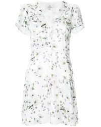 We Are Kindred White Frenchie Mini Dress