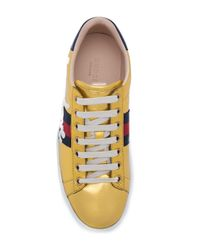 Gucci - Multicolor For Love Web Low Top Sneakers - Lyst