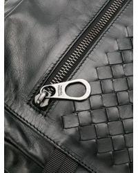 Bottega Veneta Intrecciato-Rucksack in Black für Herren