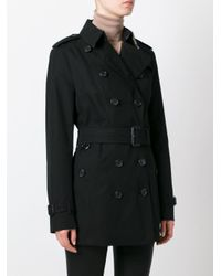 Burberry Black The Sandringham- Short Trench Coat