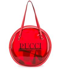 Emilio Pucci ビニール トートバッグ Red
