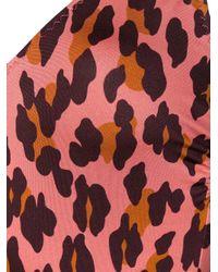 Stella McCartney Pink Leopard-print Swimsuit