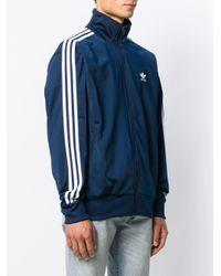 メンズ Adidas ロゴ トラックジャケット Blue