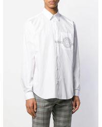 メンズ Versace メデューサ Tシャツ White