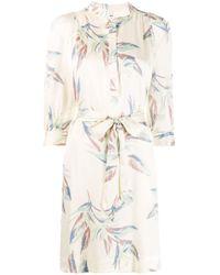 Zadig & Voltaire Multicolor Paradise Midi Dress