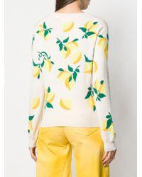 Chinti & Parker Lemon セーター Yellow