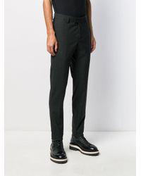 Pantalon droit slim Les Hommes pour homme en coloris Gray