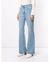 Nobody Denim Blue Jacqueline Flared Jeans