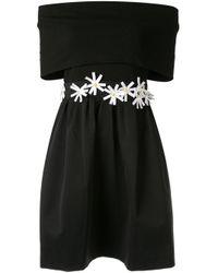 Paule Ka Black Schulterfreies Kleid