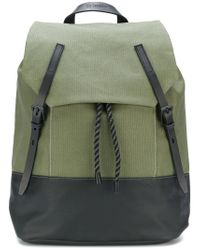 Ally Capellino - Green Drawstring Backpack for Men - Lyst